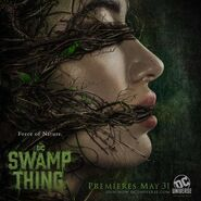 Swamp Thing Promo Poster Abby