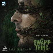 Swamp Thing Promo Poster Alec