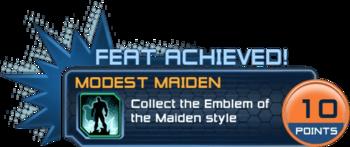 Modest Maiden