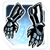 Icon Hands 008 White