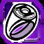 Icon Lantern Ring Purple