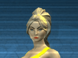 Resistance Ponytail Hairstyle