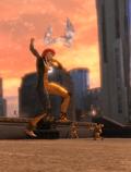 Giganta fighting Qwardians (Metropolis Anti-Matter Invasion Zone)