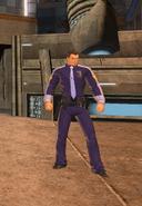 LexCorp Lieutenant Wallis (Metropolis Anti-Matter Invasion Zone)