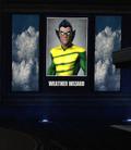 Weather Wizard Poster - Flash Museum Burglary