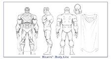 Bizarro body line