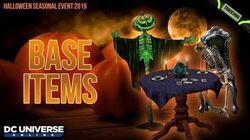 DCUO Halloween 2019 Base Items