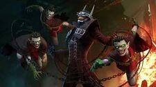 DCUO OST - Batman Who Laughs in Combat - Episode 35 Metal Part I