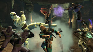 Legends PvE: League of Assassins Stronghold