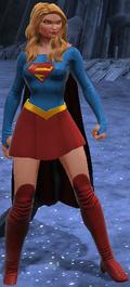Supergirl standing