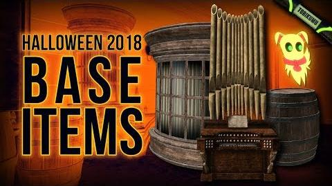 DCUO Halloween 2018 Base Items and Dog Boo Base Pet