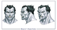 Bizarro head color