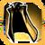 Icon Back Cape 002 Gold