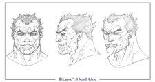 Bizarro head line