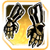Icon Hands 008 Gold