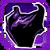 Icon Shoulders 001 Purple
