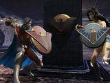 Bombshell Wonder Woman's Shield Pack