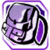 Icon Back Pack 001 Purple