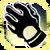 Icon Hands 004 Light Goldenrod Yellow