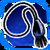 Icon Neck 004 Blue