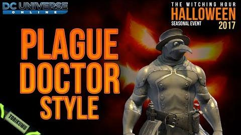 DCUO Halloween Event 2017 Plague Doctor Style