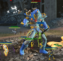 Anti-Monitor fight