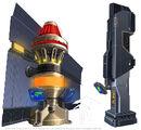 Concept power pillars