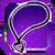 Icon Neck 003 Purple
