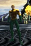 Aquaman on his frigate