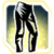 Icon Legs 003 Light Goldenrod Yellow