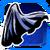 Icon Back Cape 001 Blue