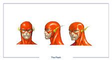The Flash head