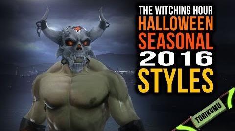 DCUO Halloween Event 2016 Hellbeast Style