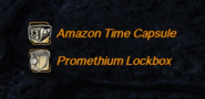 Loot - Lockbox and Amazon Time Capsule