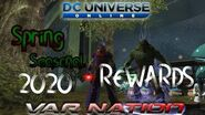 DCUO - Spring Seasonal 2020 Rewards Base Items Styles Price Guide
