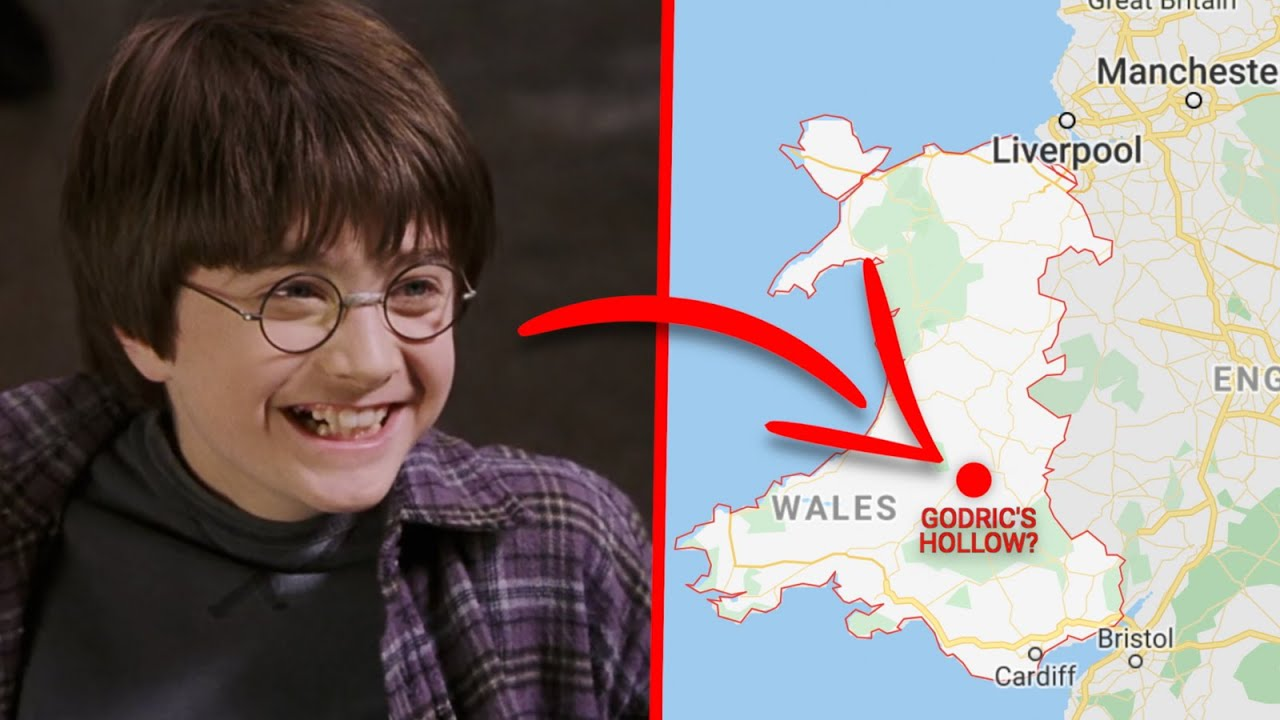 harry potter is actually welsh