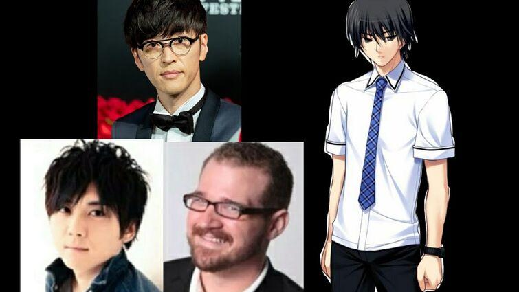 Anime Voice Comparison - Yuuji Kazami (Grisaia)