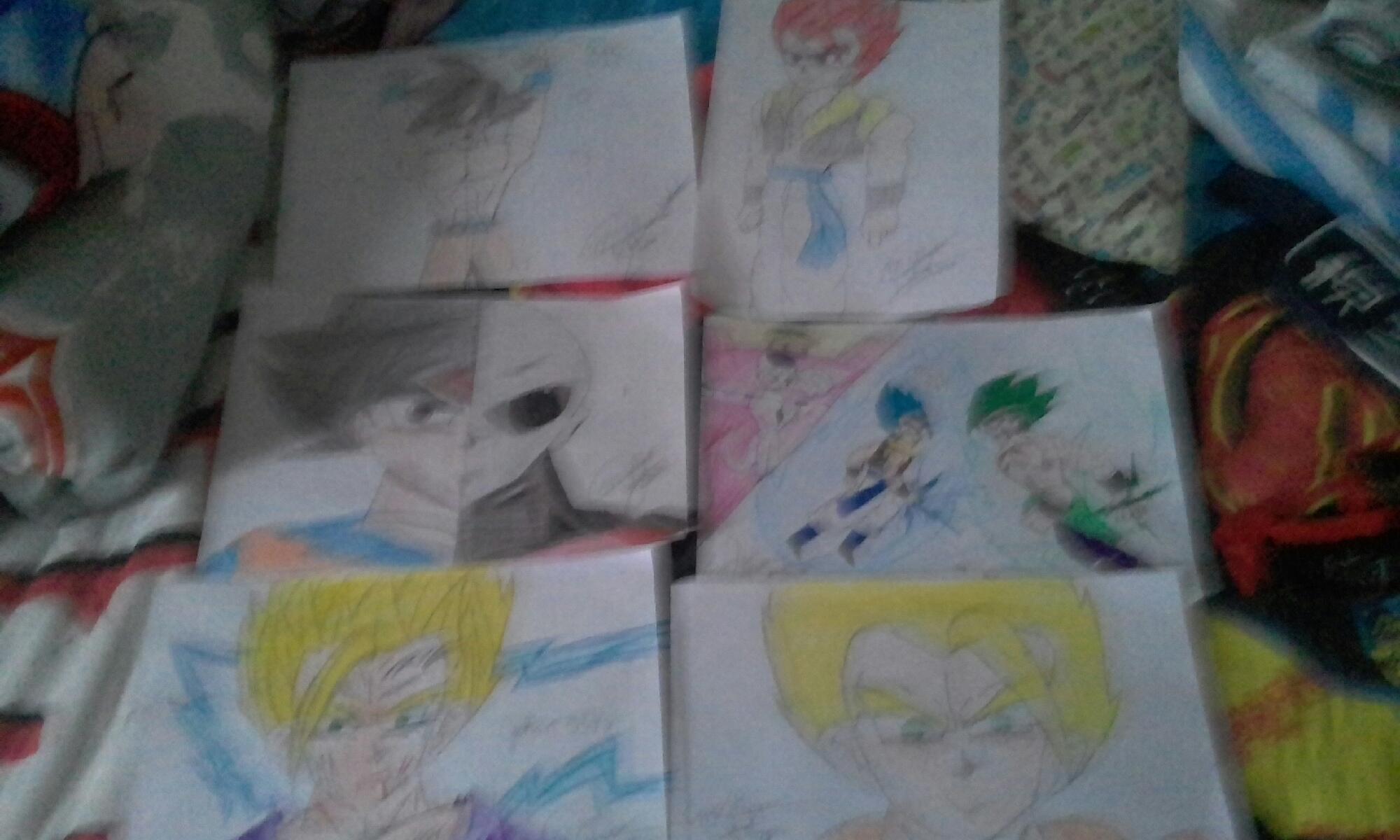 Olha esses desenhos