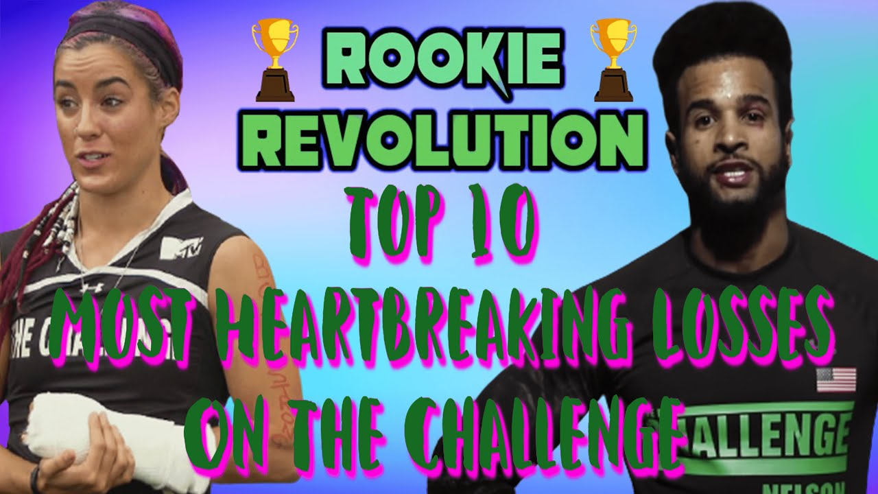 Top 10 Most Heartbreaking Losses on The Challenge!