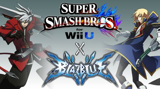BlazBlue X Super Smash Bros 4 (Ragna and Jin Mod Showcase!)