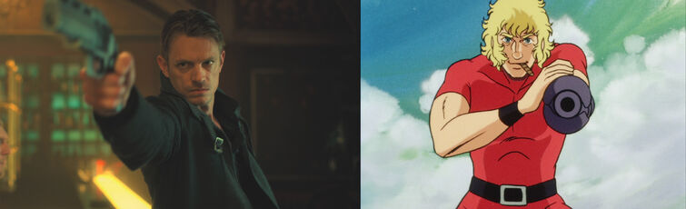 Similarity between Takeshi Kovac and Cobra