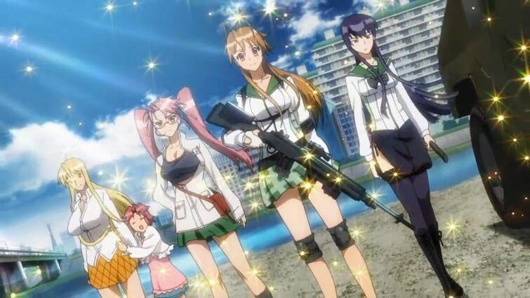 [Top 10] Anime Like Battle Royale Games (PUBG / Fortnite) | Streamline Anime