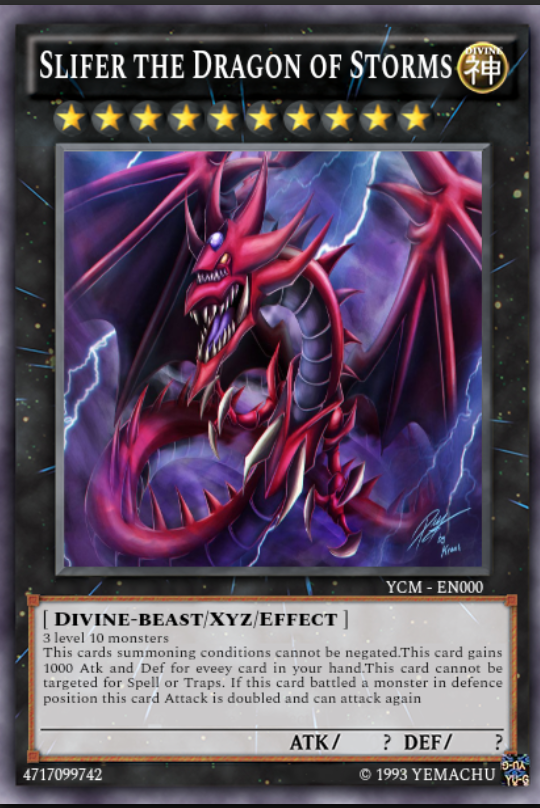 Custom Xyz Egyptian God Monster Fandom