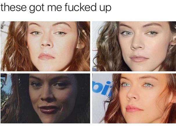 God had his reason for not making Harry Styles a woman.