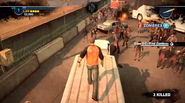 Dead rising 2 Case 0 quarantine zone jumping from vehicles (11)