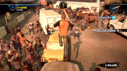 Dead rising 2 Case 0 quarantine zone jumping from vehicles (13)