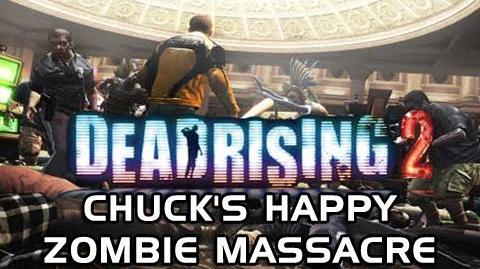 Dead Rising 2 Gameplay - Chuck's Happy Zombie Massacre (Dead Rising 2 Machinima)
