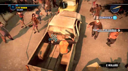Dead rising 2 Case 0 quarantine zone jumping from vehicles (2)