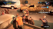 Dead rising 2 Case 0 quarantine zone jumping from vehicles (4)
