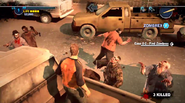 Dead rising 2 Case 0 quarantine zone jumping from vehicles (7)